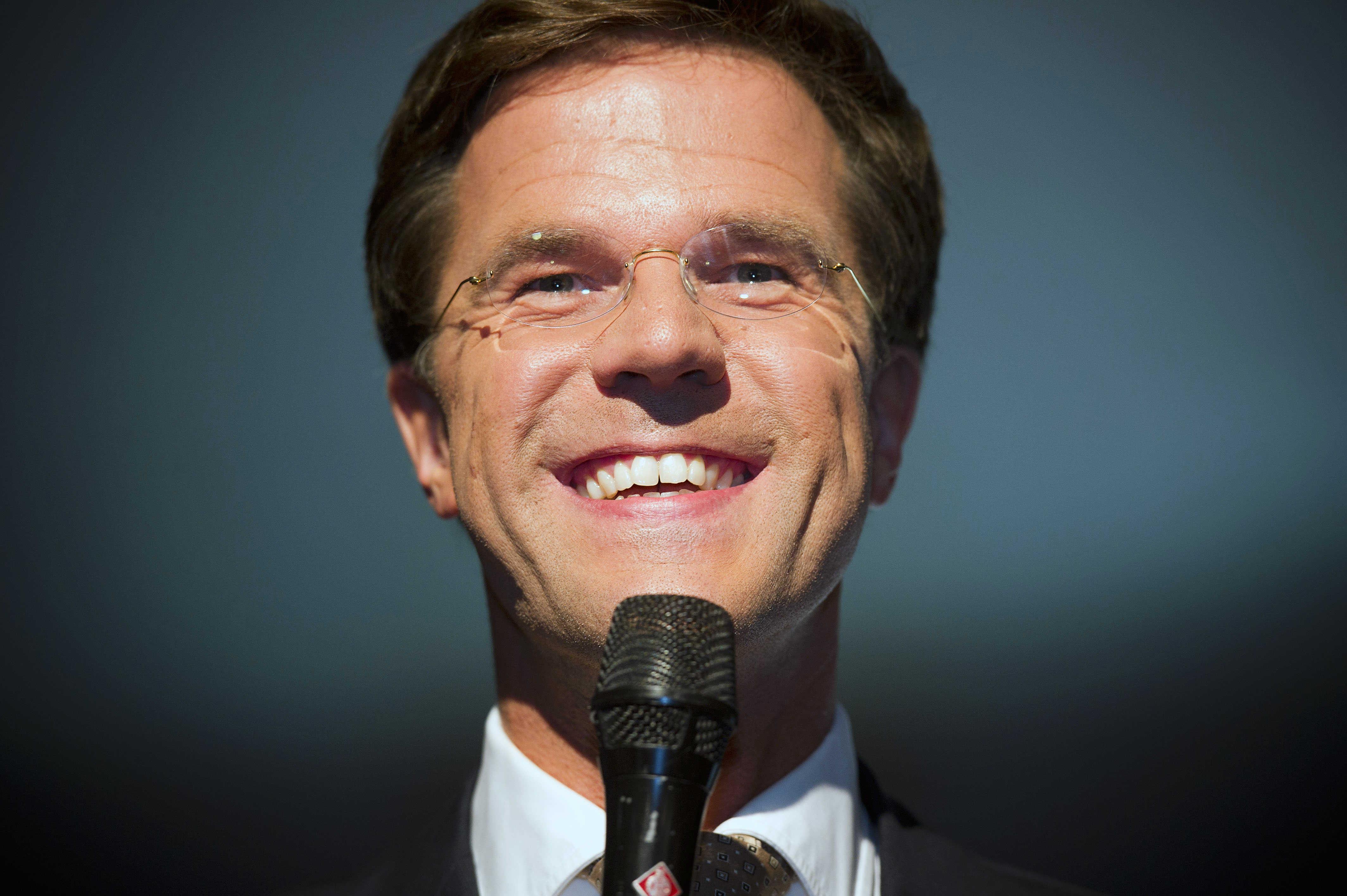 Rutte niet meer populairste minister ...